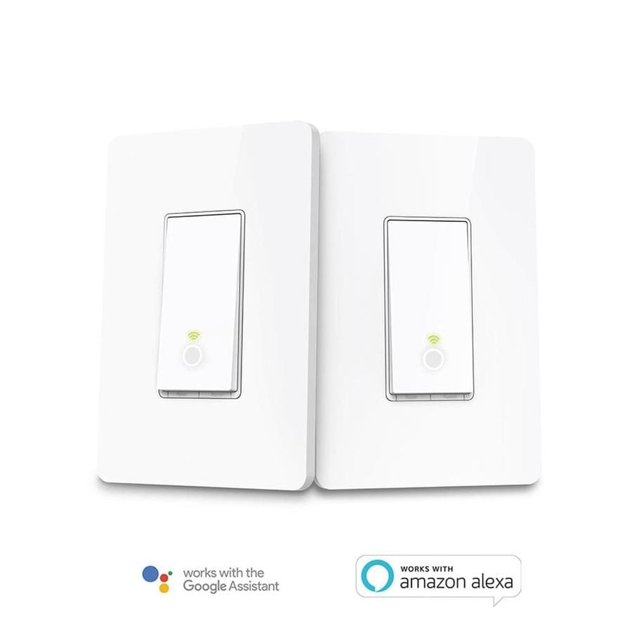 Shop TP-Link Smart Switch 2-Pack 3.3-in White In-Line Cord Light ...