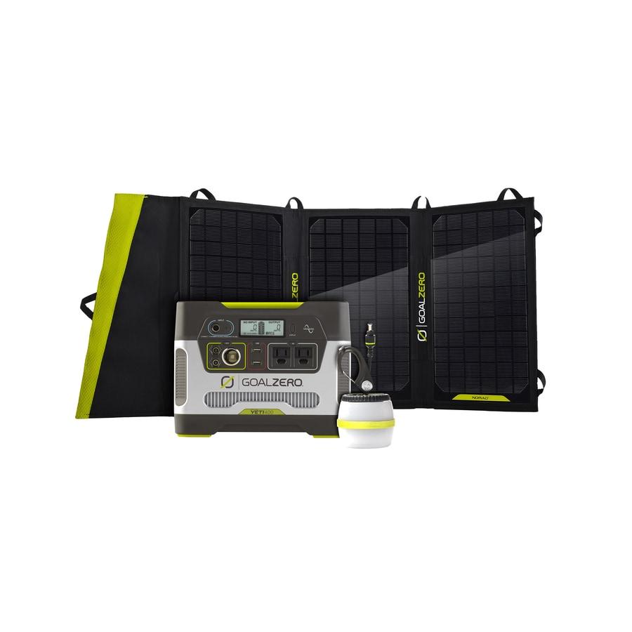 GOAL ZERO Yeti 400-Watt Hour Portable Solar Generator
