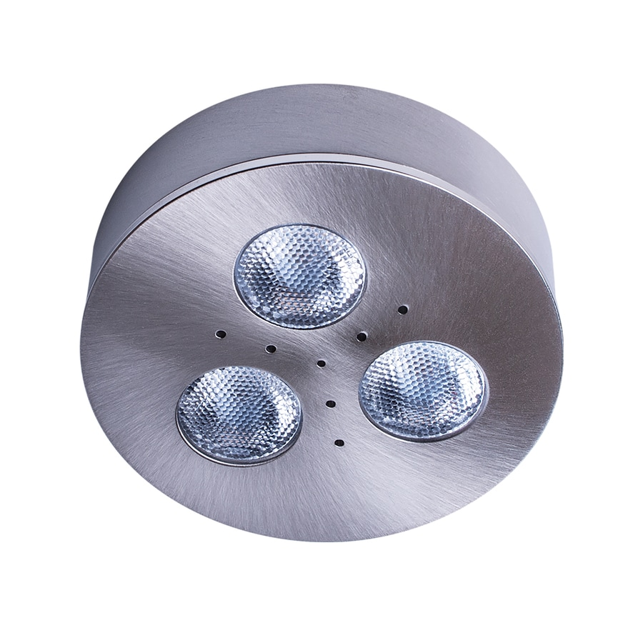 Shop armacost lighting trivue brushed steel 4000k 275 in puck light armacost lighting trivue brushed steel 4000k 275 in puck light aloadofball Images