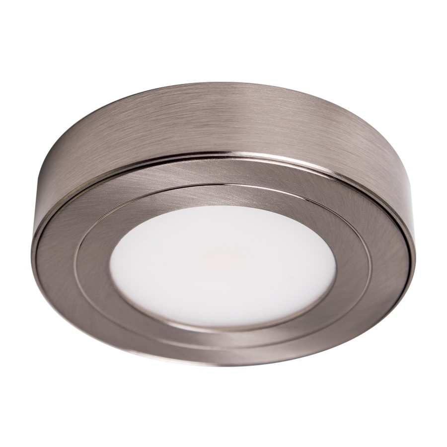 Armacost Lighting PureVue Brushed Steel 2.875-in Puck Light