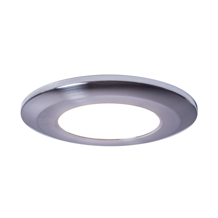 Armacost Lighting Wafer Thin Polished Chrome 4000K 3.8125-in Puck Light