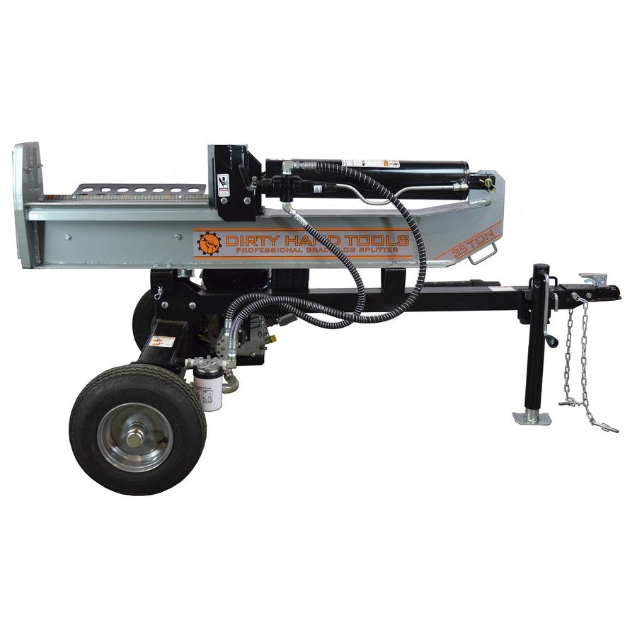 Dirty Hand Tools 35 Ton Gas Log Splitter
