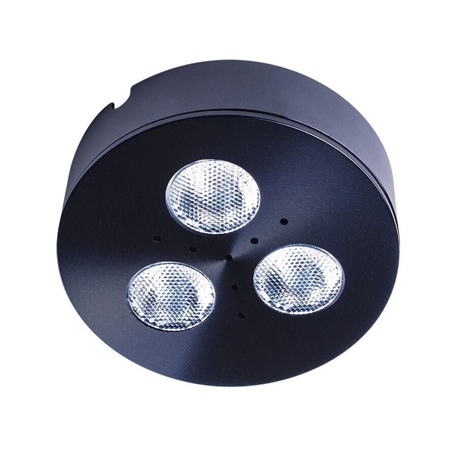 Armacost Lighting TriVue Matte Black 2700K 2.75-in Puck Light