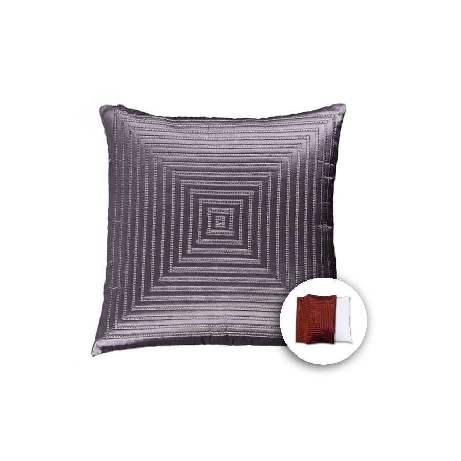 allen + roth 18-in W x 18-in L Oat Square Indoor Decorative Pillow Cover