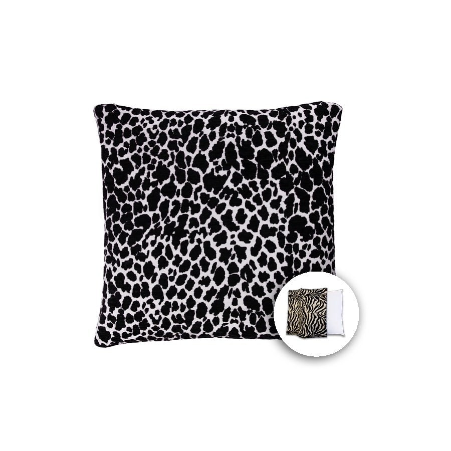 allen + roth 18-in W x 18-in L Giraffe Square Indoor Decorative Pillow Cover