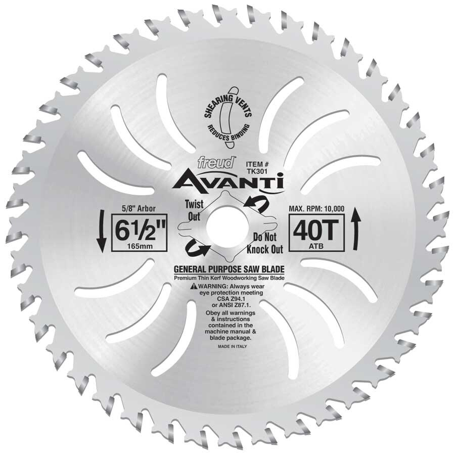 Shop freud avanti 6 12 in circular saw blade at lowes freud avanti 6 12 in circular saw blade greentooth