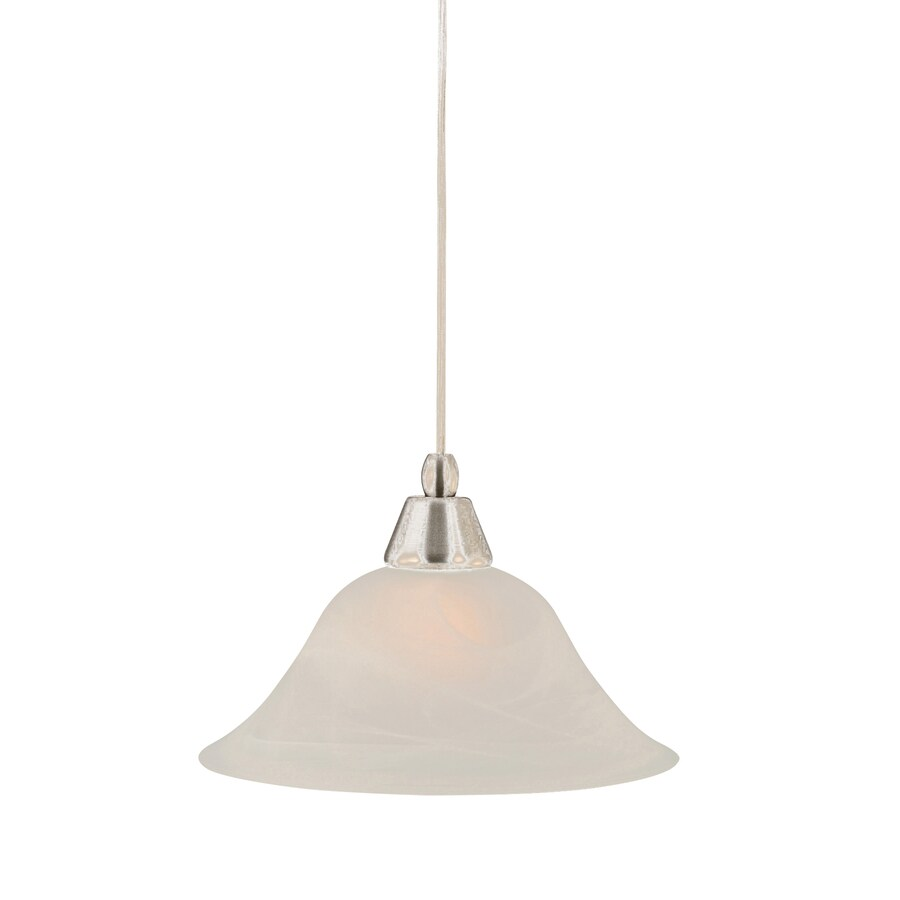 Brooster 10-in Brushed Nickel Mini Pendant