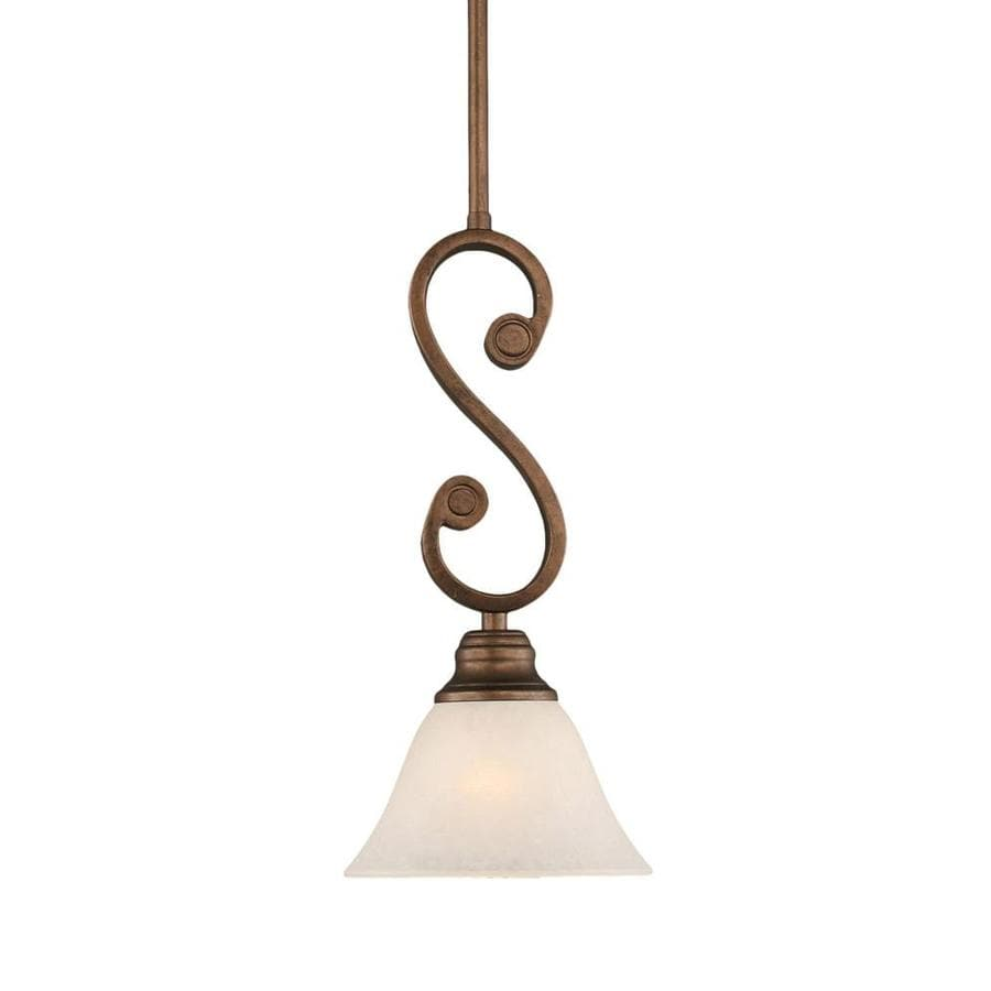 Divina 7-in Bronze Mini N/A Pendant