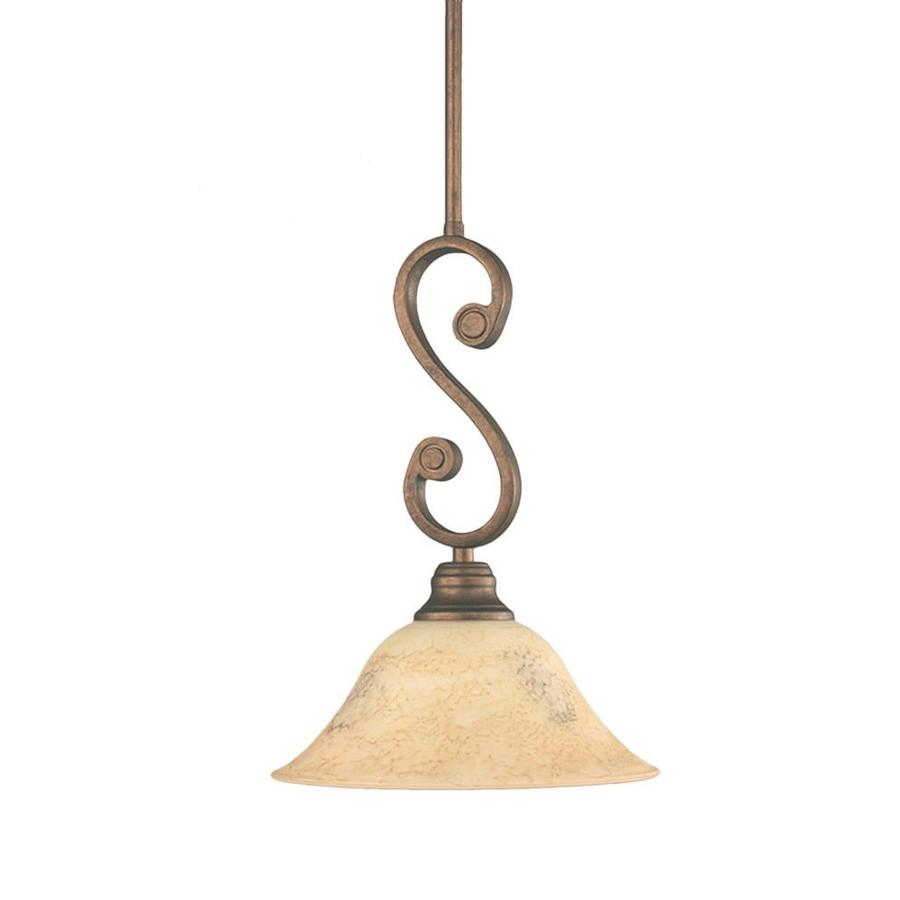 Divina 7-in Bronze Mini N/A Pendant