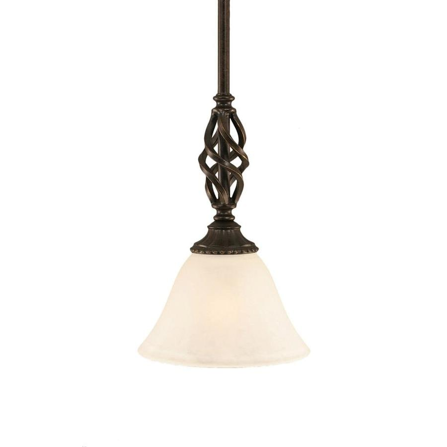 Divina 7-in Dark Granite Mini N/A Pendant