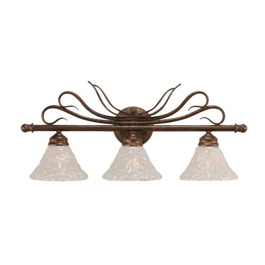 Divina 3-Light 11.75-in Bronze Vanity Light
