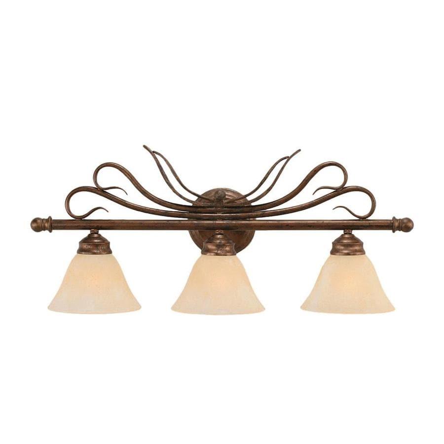 Divina 3-Light 11.5-in Bronze Vanity Light