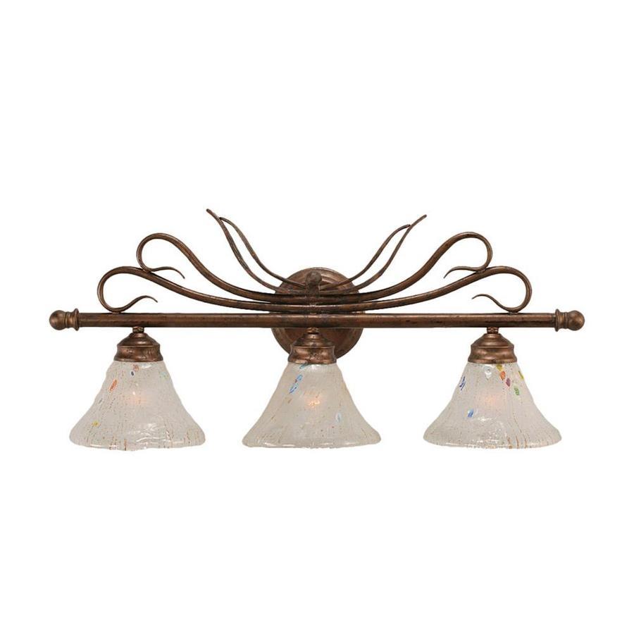 Divina 3-Light 11.25-in Bronze Vanity Light