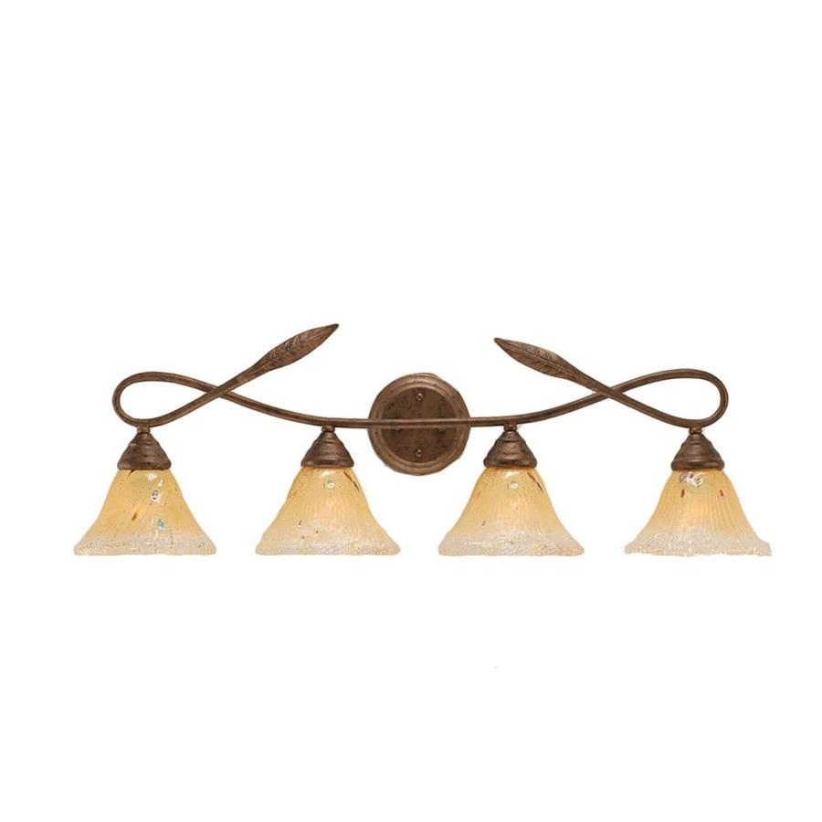 Divina 4-Light 10.5-in Bronze Vanity Light