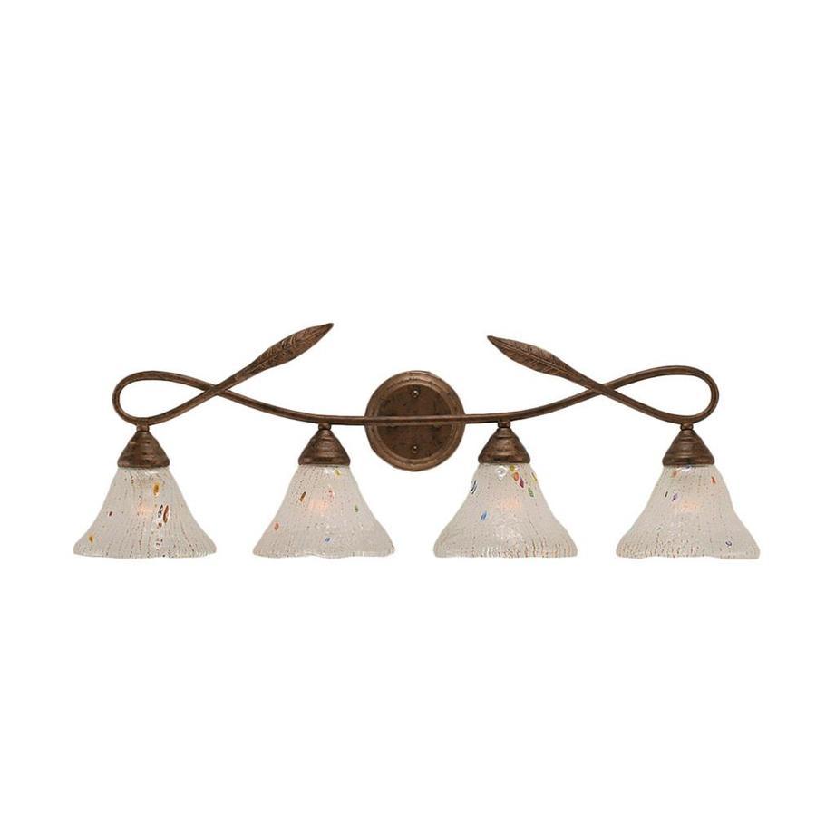 Divina 4-Light 10.5-in Bronze Vanity Light