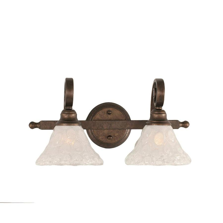 Divina 2-Light 8.5-in Bronze Vanity Light