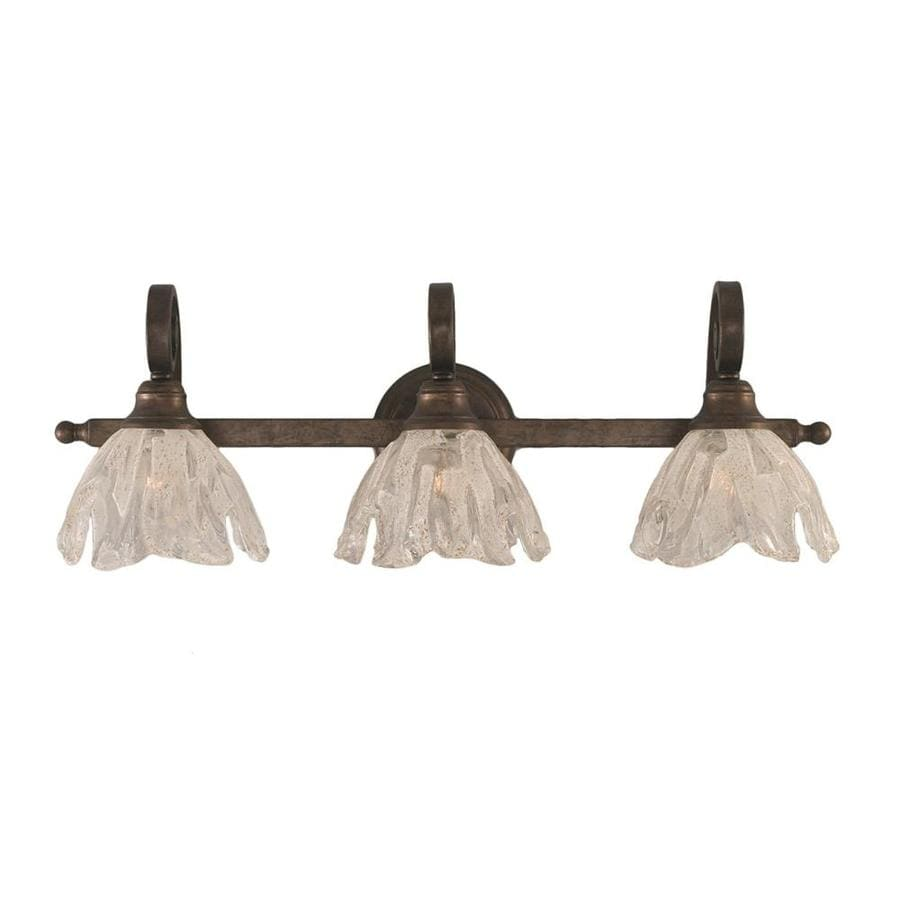 Divina 3-Light 9-in Bronze Vanity Light