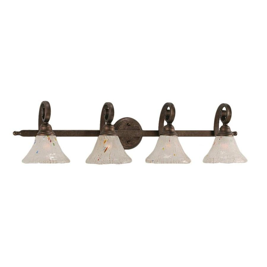 Divina 4-Light 9-in Bronze Vanity Light