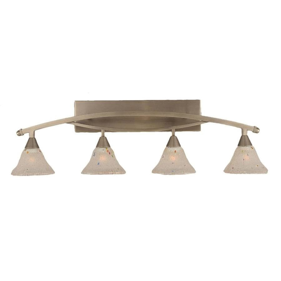 Divina 4-Light Brushed Nickel Vanity Light