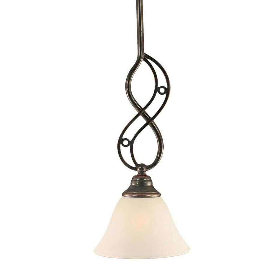 Divina 7-in Black Copper Mini N/A Pendant