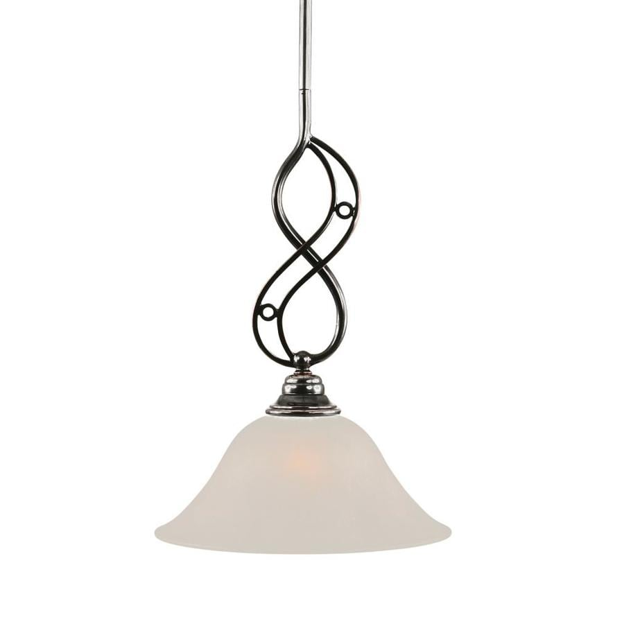 Brooster 10-in Black Copper Mini Bell Pendant