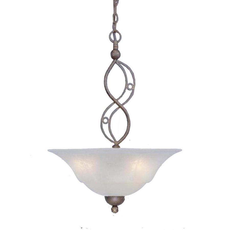 Divina 20-in Bronze Single Bell Pendant