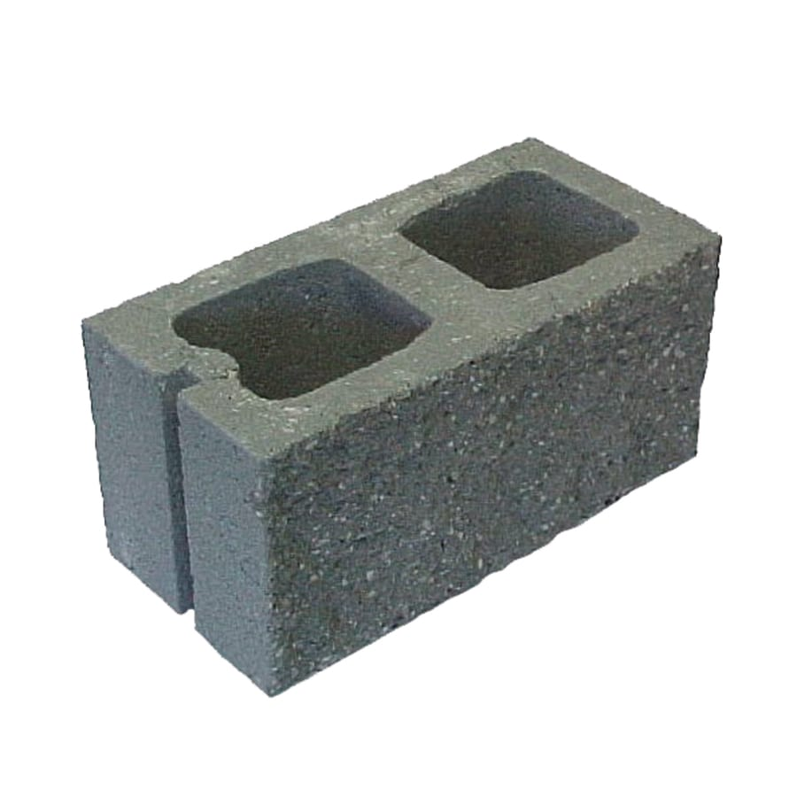 Shop Split Face Concrete Block Common 8 In X 8 In X 16