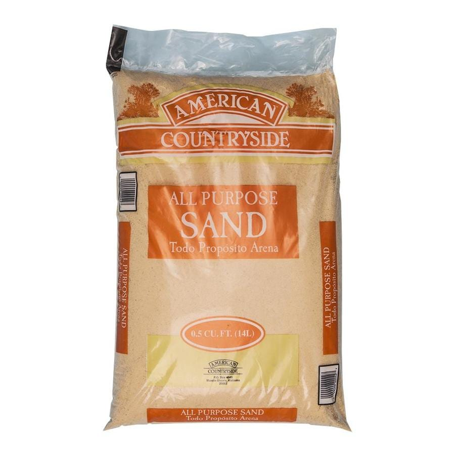 American Countryside 50 Lb All Purpose Sand At Lowes Com