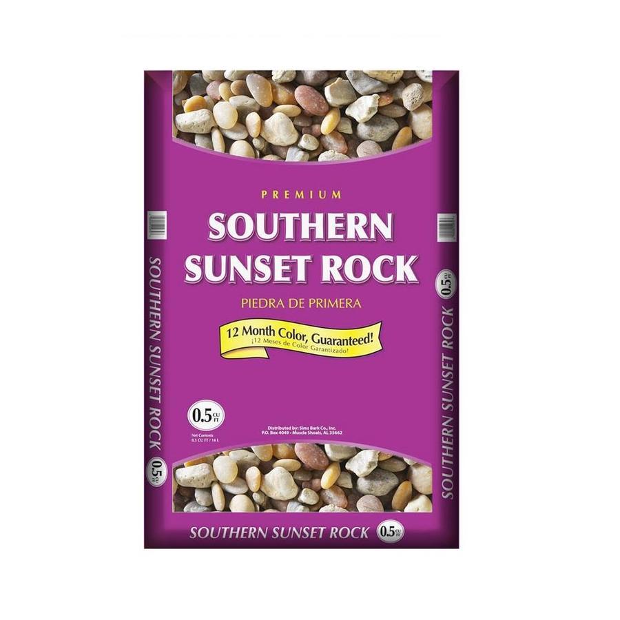 0.5-cu ft Southern Sunset Rock