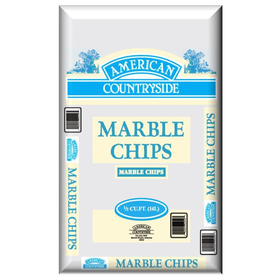 American Countryside 0.5 cu ft Marble Chip