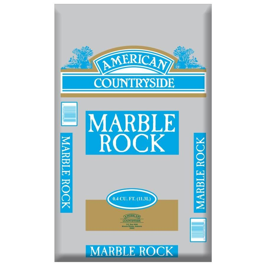 Shop American Countryside 0.4-cu ft Marble Rock at Lowes.com