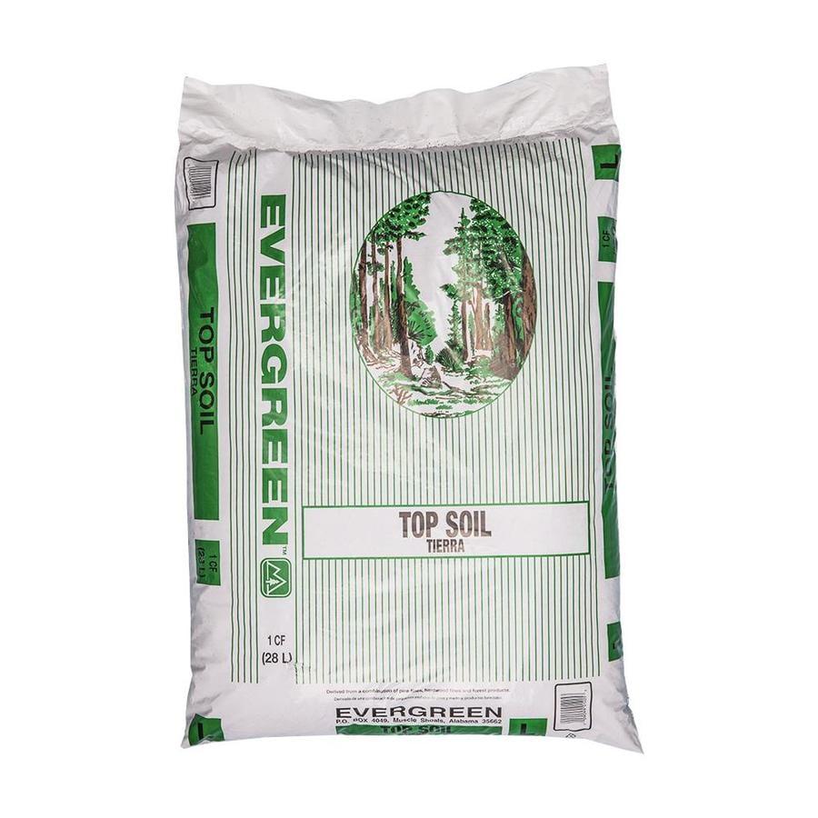 Evergreen 1-cu ft Organic Top Soil
