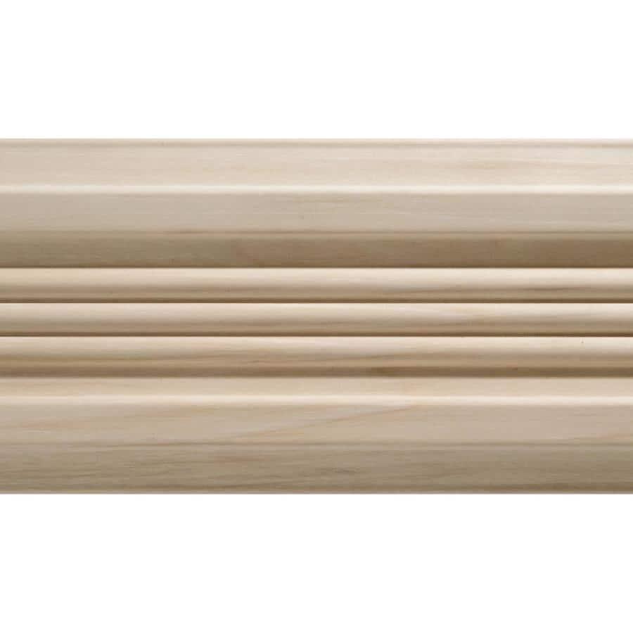 4-in x 7-ft Interior White Hardwood Window and Door Casing