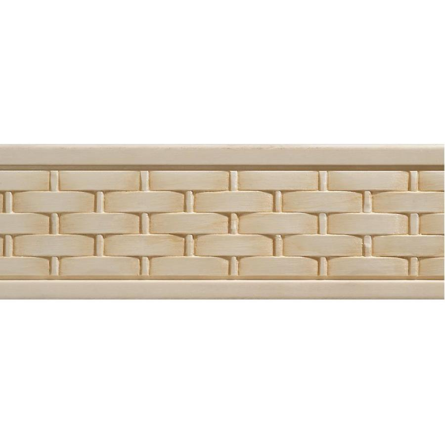 2.5-in X 8-ft White Hardwood Chair Rail Moulding At Lowes.com