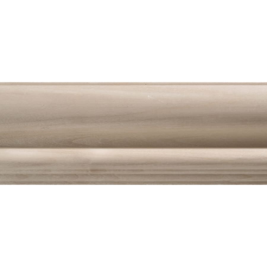 Attrayant 2.75 In X 8 Ft White Hardwood Chair Rail Moulding