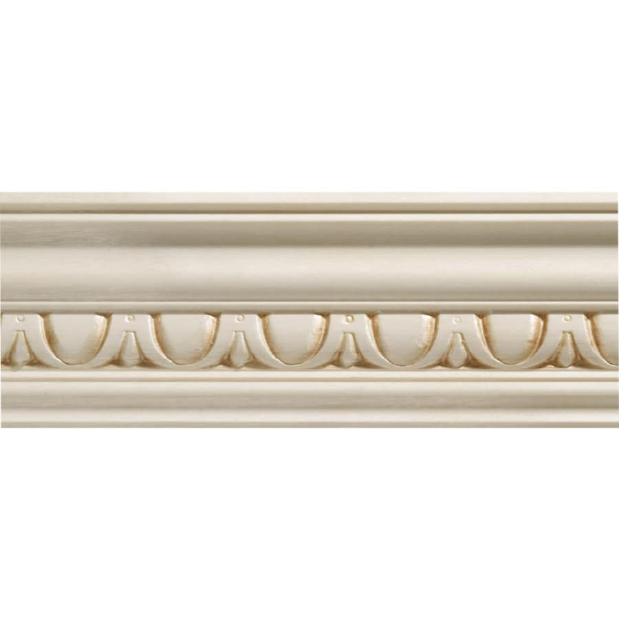 2.75-in x 8-ft White Hardwood Crown Moulding