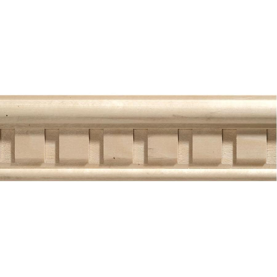 2.25-in X 8-ft White Hardwood Chair Rail Moulding At Lowes.com