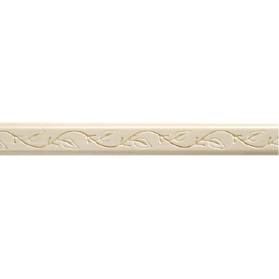 7/8-in x 8-ft White Hard Unfinished Crown Moulding (Actual