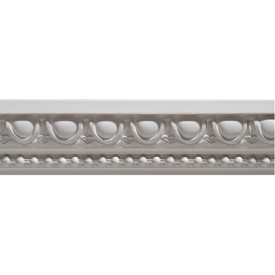 0.1615-in x 8-ft Painted Moulding