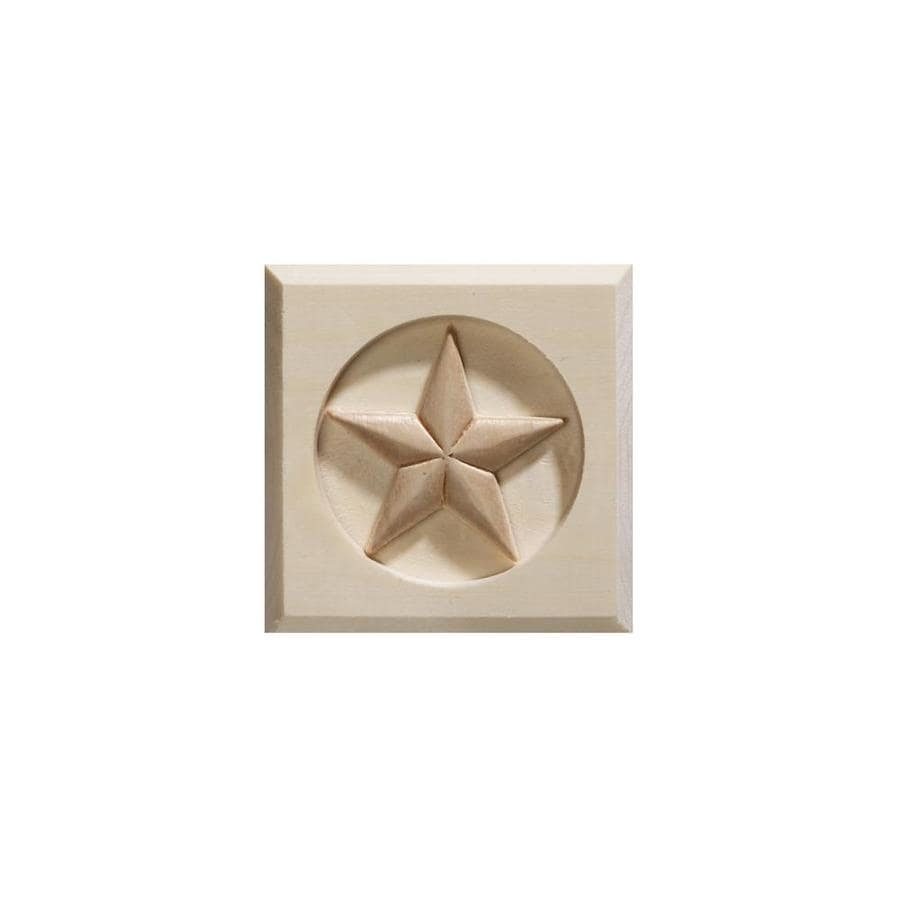 EverTrue Square Wood Rosette