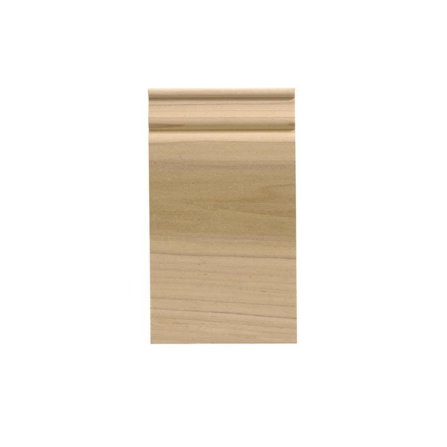 EverTrue 2.5-in x 5.75-in White Hardwood Plinth