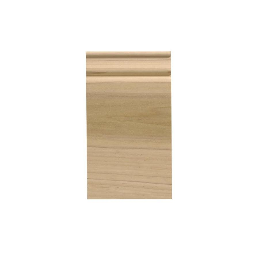 EverTrue 4.5-in x 8-in White Hardwood Plinth