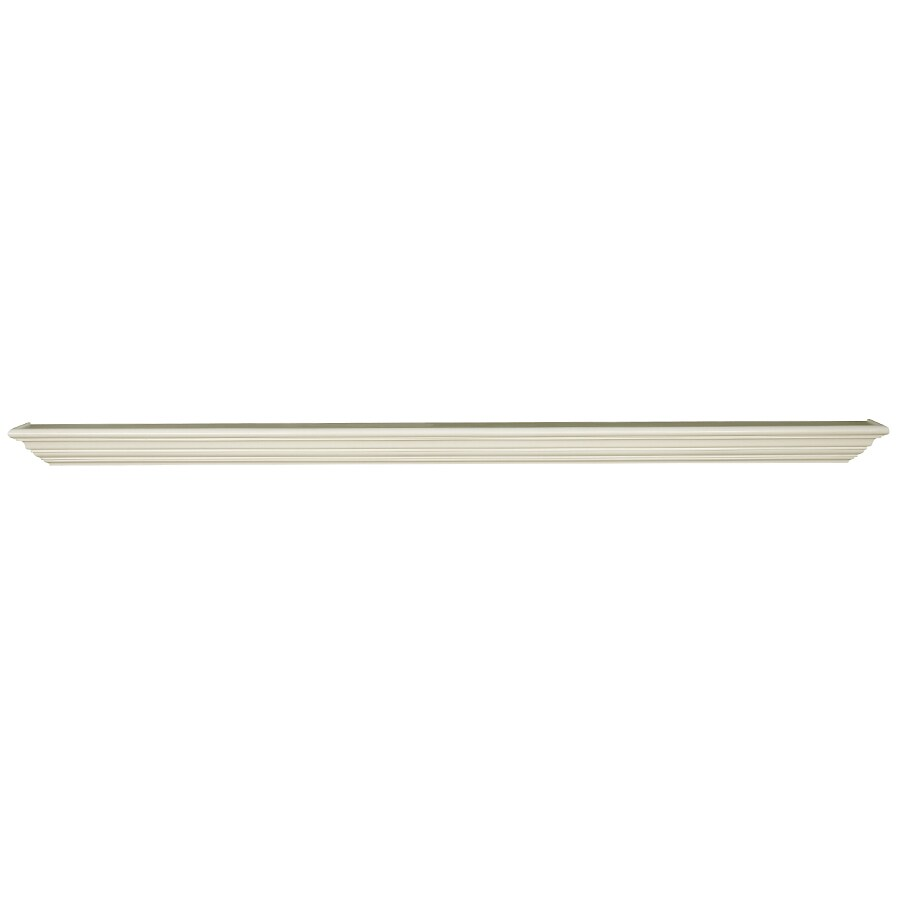 shop allen roth 72 in primed whitewood federal fireplace mantel