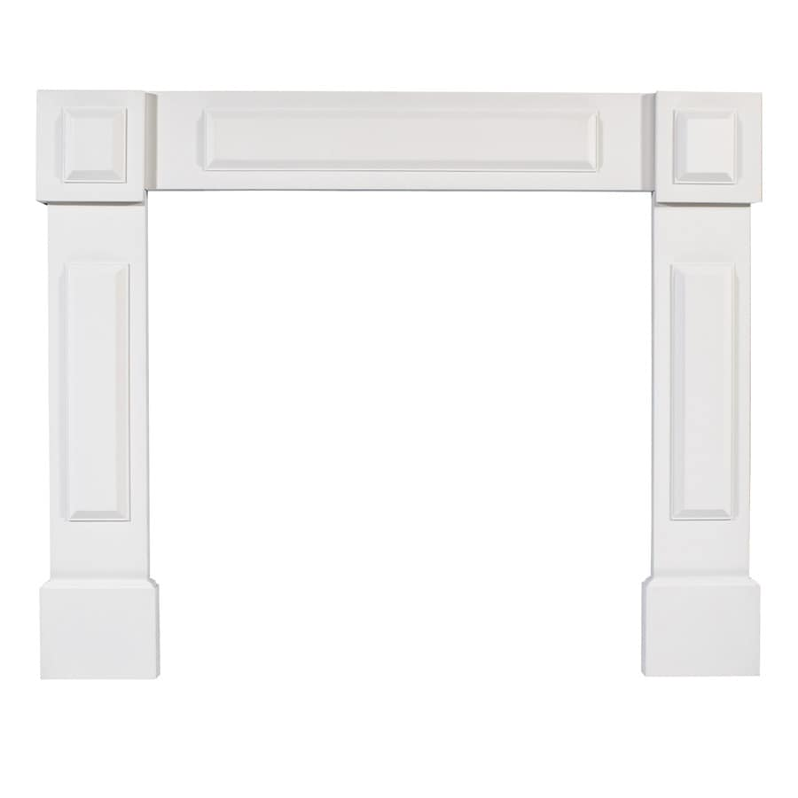 allen + roth 42-in x 53-1/2-in Primed Whitewood Mantel Surrounds
