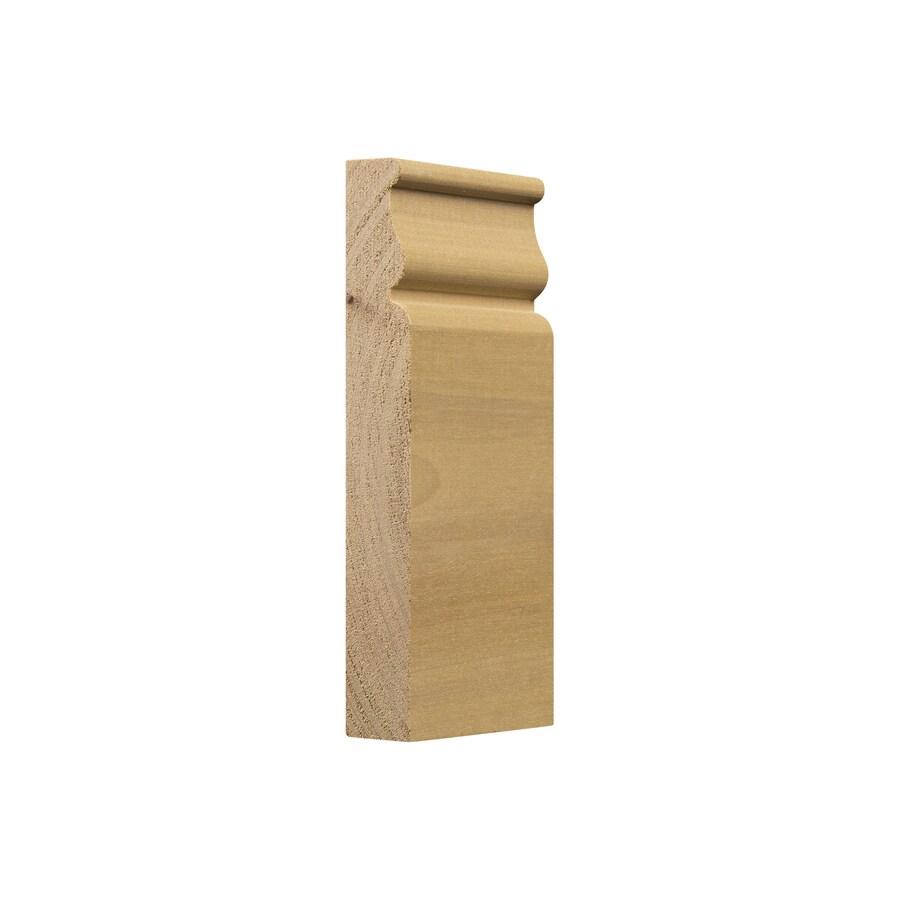 Ornamental 2.5-in x 5.75-in White Hardwood Plinth