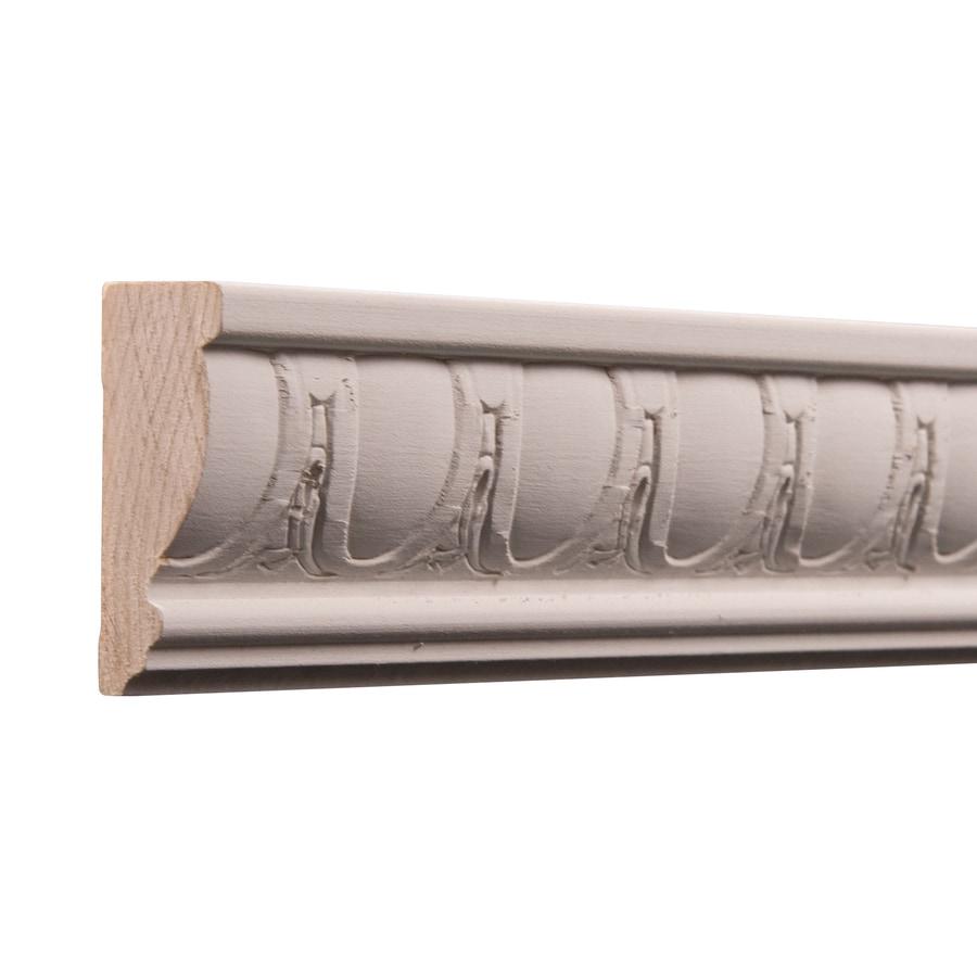 Ornamental 2.25-in x 8-ft White Hardwood Primed Chair Rail Moulding