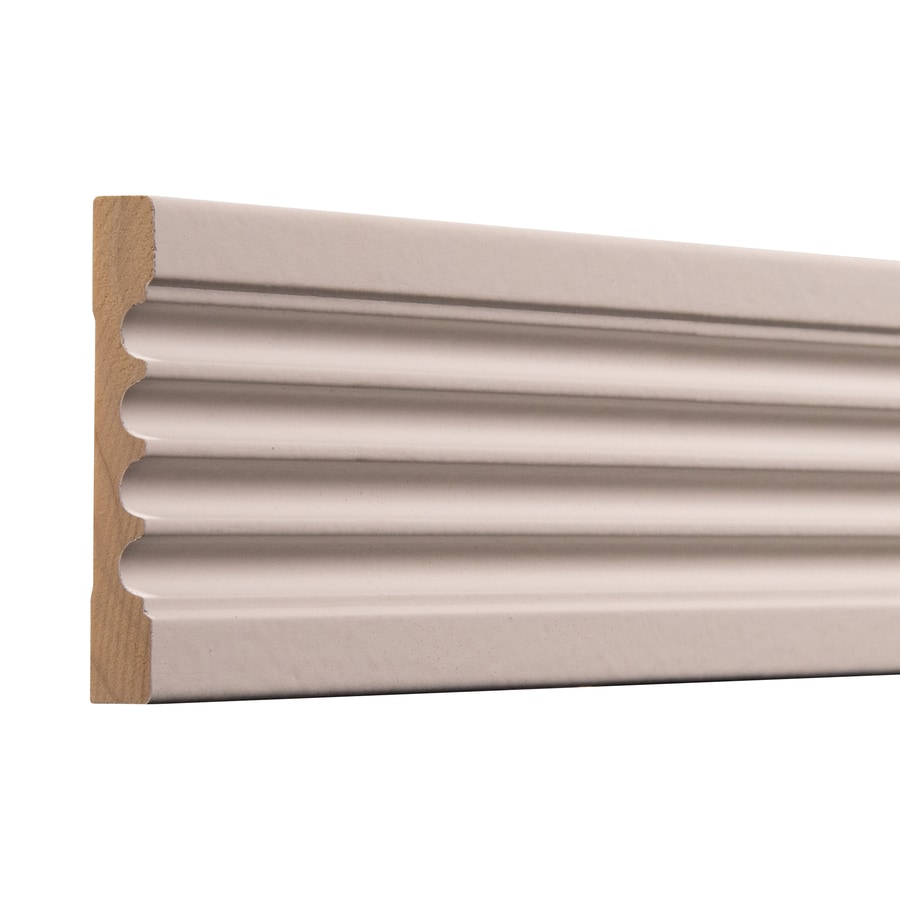 Ornamental 3 4 In X 3 In X 7 Ft Primed White Hardwood Wood Casing In The Window Door Moulding Department At Lowes Com