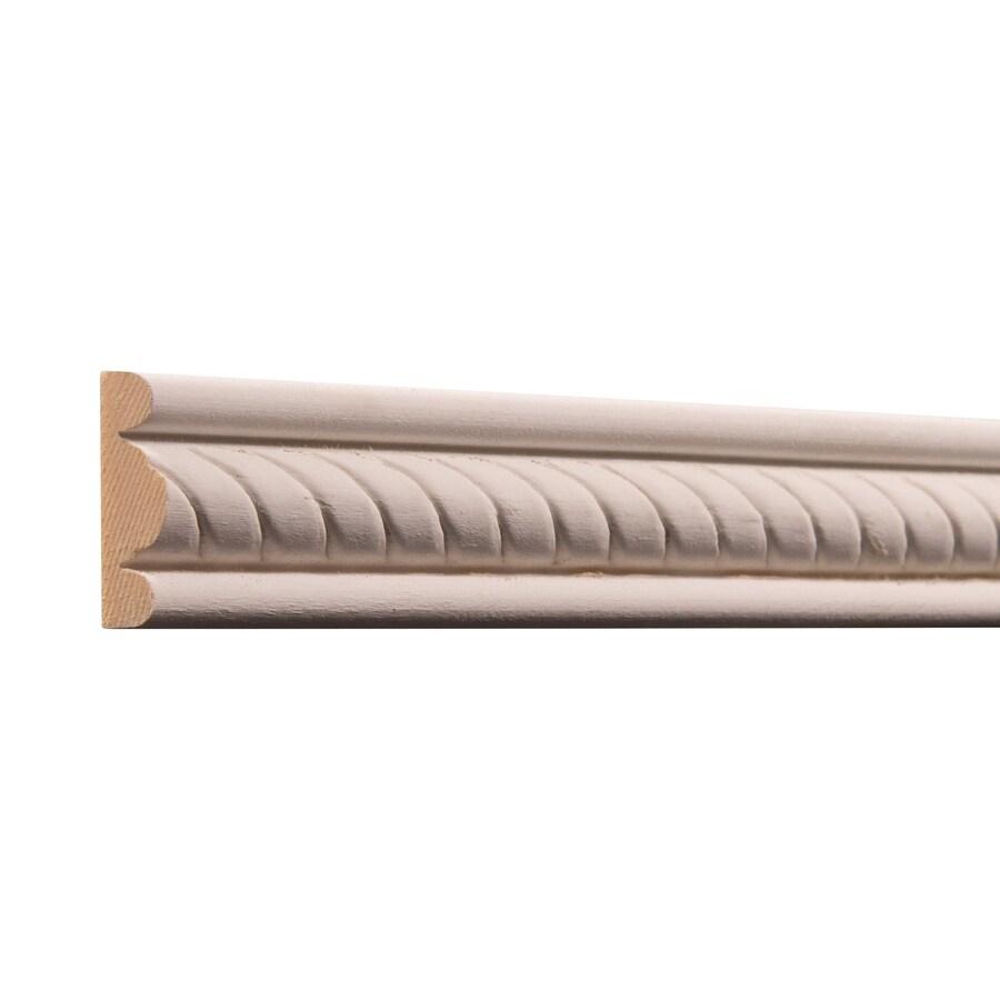 Ornamental 1.375-in X 8-ft White Hardwood Primed Rope
