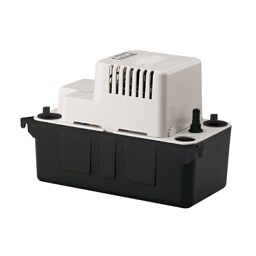Little Giant 0 02 Hp Plastic Condensate Pump At Lowes Com