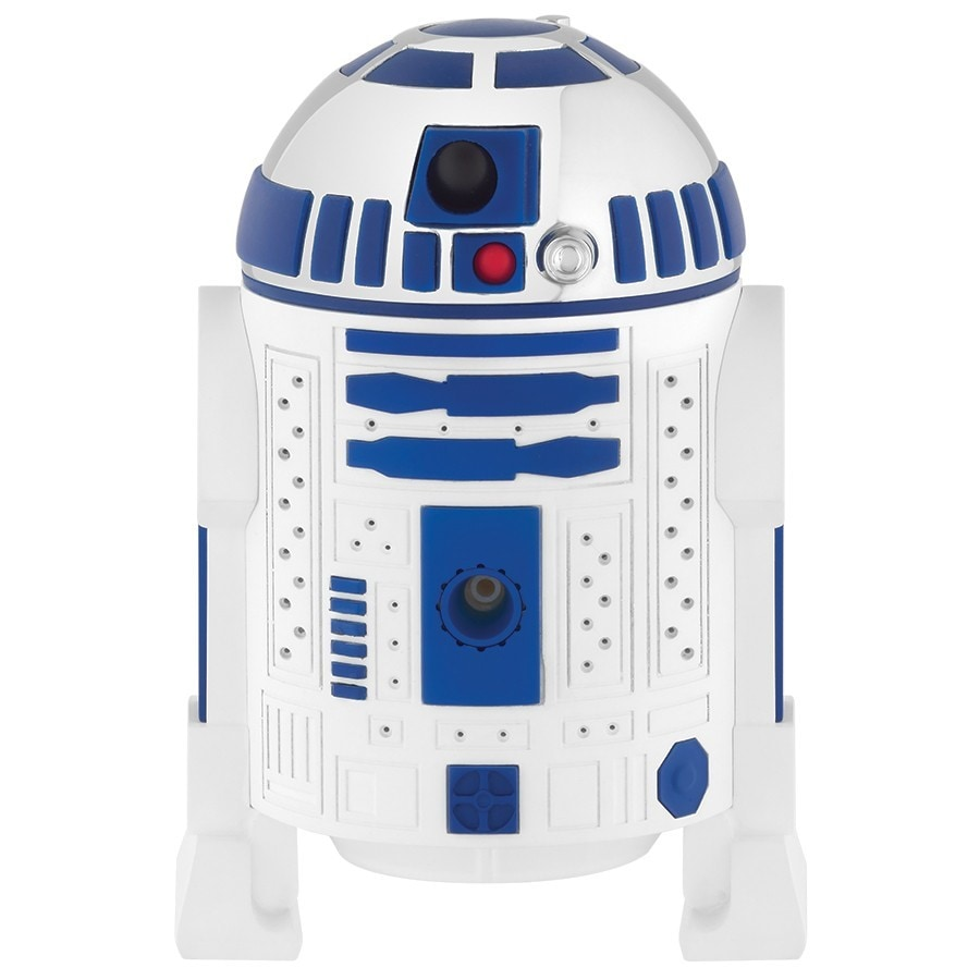 Oxygenics R2-D2 White/Chrome 3-Spray Shower Head